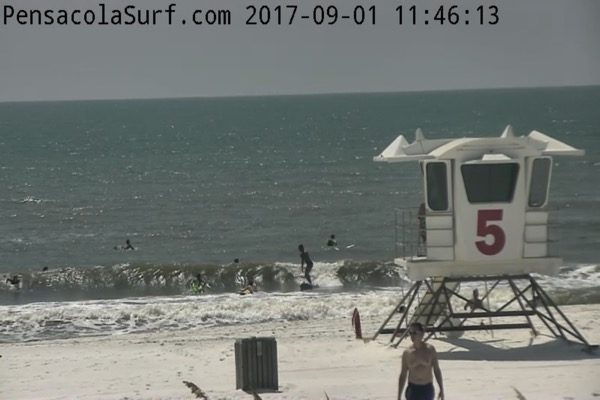 Friday High Noon Beach and Surf Report 9-1-17