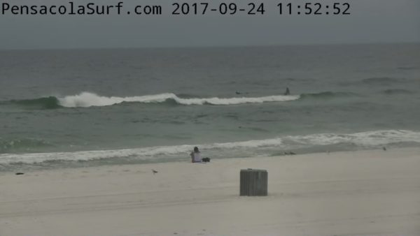 Sunday Noon Beach and Surf Report 9/24/17