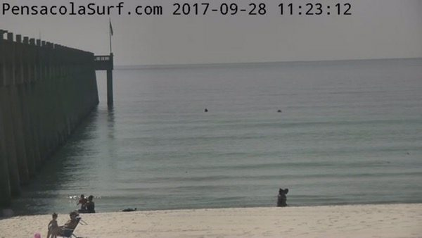 Thursday Mid-day Beach and Surf Report 9/28/17