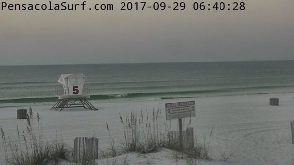 Friday Morning Beach and Surf Report 9/29/17