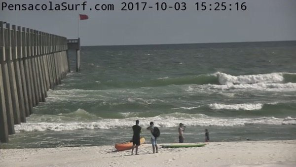 Tuesday Afternoon Beach and Surf Report 10/3/17