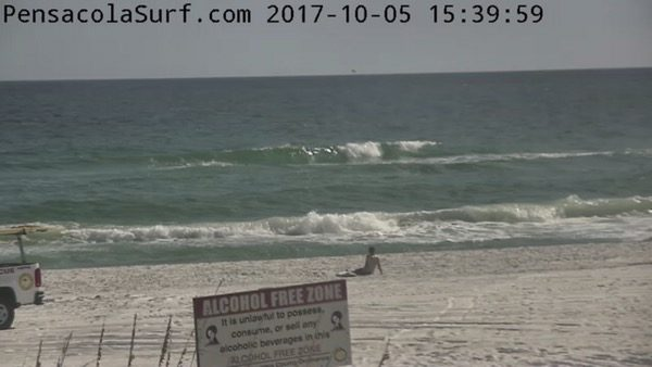 Thursday Evening Beach and Surf Report 10/5/17