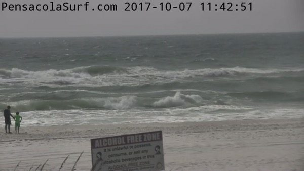 Saturday Noon Beach and Surf Report 10/7/17