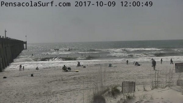 Monday Noon Nate Dogg Beach and Surf Report 10/9/17