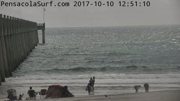 Tuesday afternoon beach and surf report 10/10/17