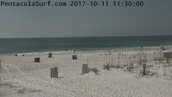 Wednesday Noon Beach and Surf Report 10/11/17