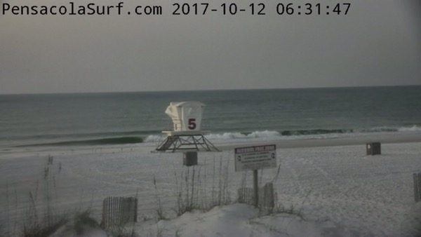 Thursday Morning Beach and Surf Report 10/12/17