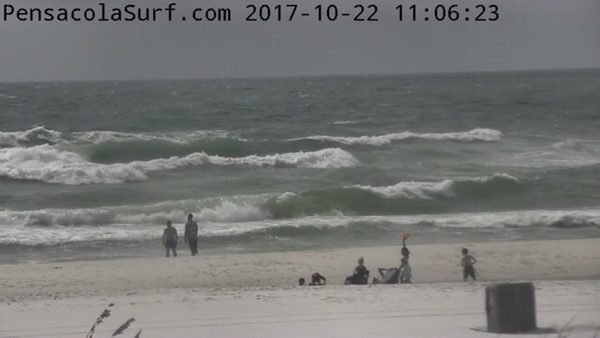 Sunday Mid-day Beach and Surf Report 10/22/17