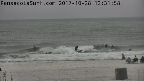 Saturday Afternoon Beach and Surf Report 10/28/17
