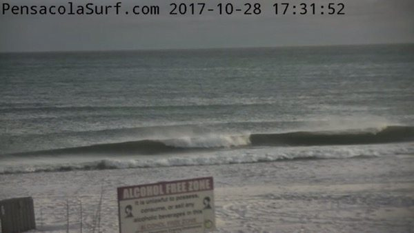 Saturday Evening Beach and Surf Report 10/28/17