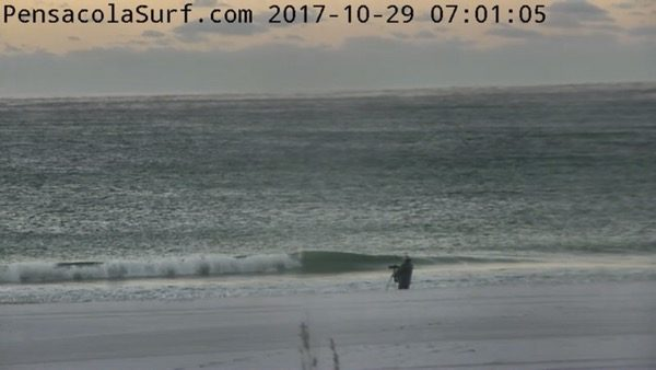 Sunday Morning Beach and Surf Report 10/29/17