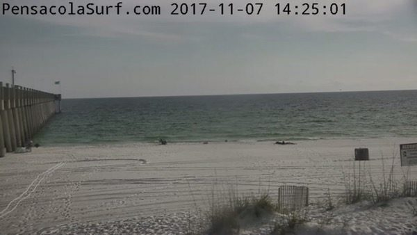 Tuesday Afternoon Beach and Surf Report 11/7/17