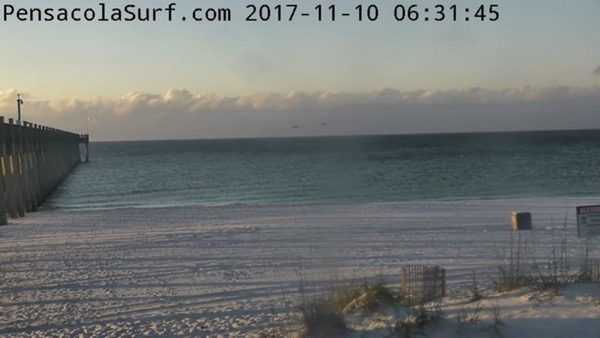 Friday Morning Beach and Surf Report 11/10/17