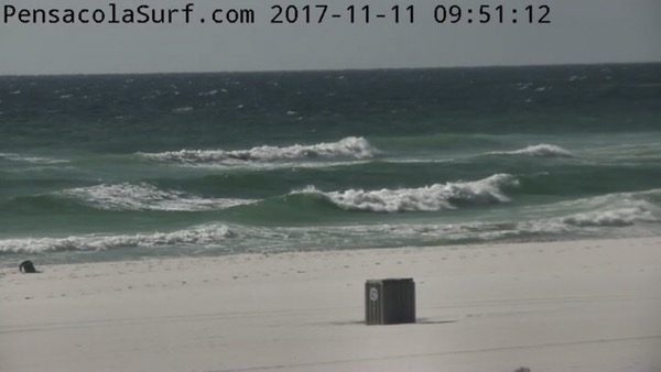 Saturday Mid-Morning Beach and Surf Report 11/11/17