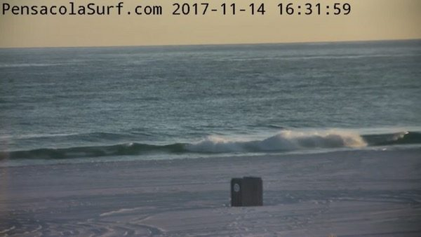 Tuesday Evening Beach and Surf Report 11/14/17