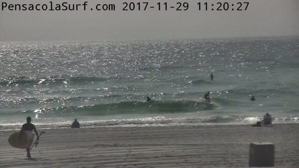 Wednesday Noon Beach and Surf Report 11/29/17