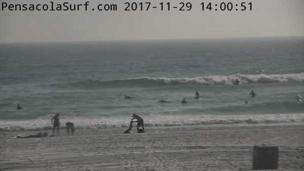 Wednesday Afternoon Beach and Surf Report 11/29/17
