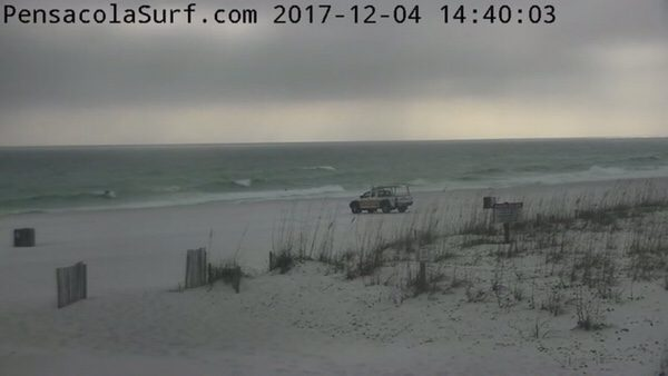 Monday Afternoon Beach and Surf Report 12/4/17