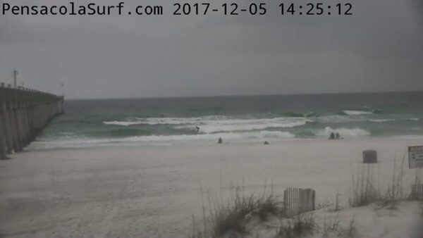 Tuesday Afternoon Beach and Surf Report 12/5/17