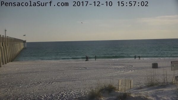 Sunday Evening Beach and Surf Report 12/10/17