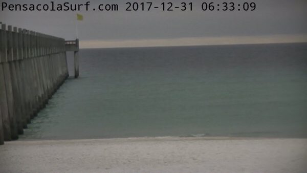 Sunday Morning New Year's Eve Beach and Surf Report 12/31/17