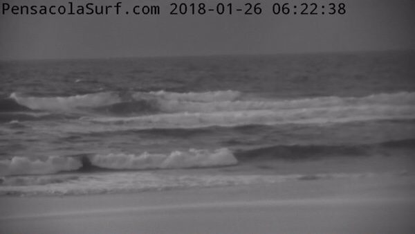 Friday Morning Beach and Surf Report 1/26/18