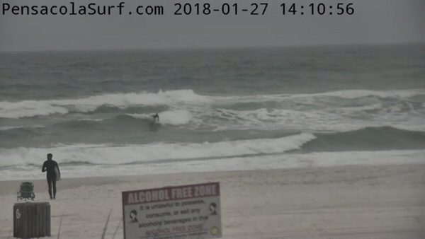 Saturday Afternoon Beach and Surf Report 1/27/18