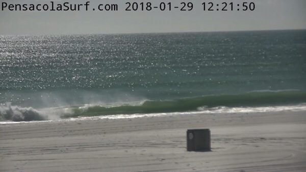 Monday Noon Beach and Surf Report 1/29/18