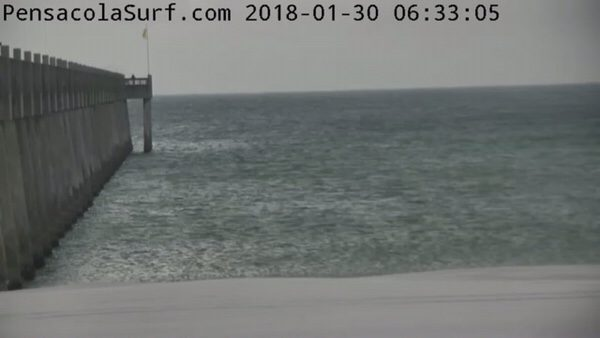 Tuesday Morning Beach and a Surf Report 1/30/18
