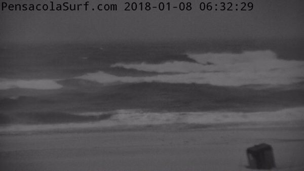 Monday Morning Beach and Surf Report 1/8/18