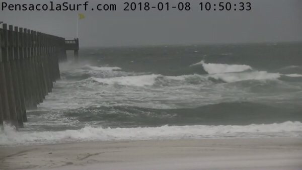 Monday Mid-Day Beach and Surf Report 1/8/18