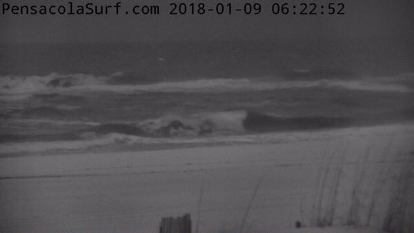 Tuesday Morning Beach and Surf Report 1/9/18
