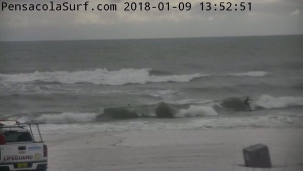 Tuesday Afternoon Beach and Surf Report 1/9/18