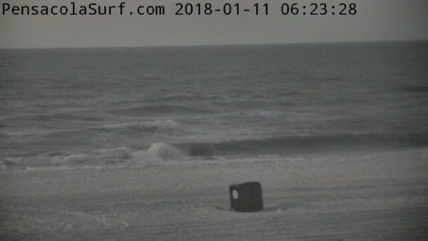 Thursday Morning Beach and Surf Report 1/11/18