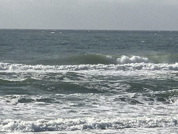 Friday Mid-Morning Beach and Surf Update 1/12/18