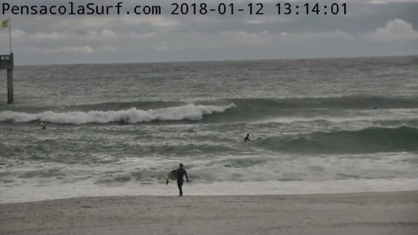 Friday Afternoon Beach and Surf Report 1/12/18