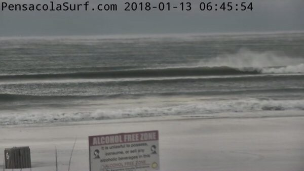 Saturday Morning Beach and Surf Report 1/13/18