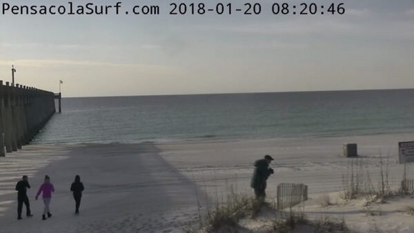 Saturday Morning Beach and Surf Report 1/20/18
