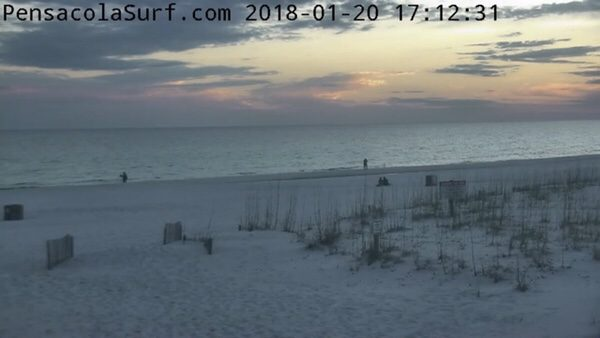 Saturday Evening Beach and Surf Report 1/20/18