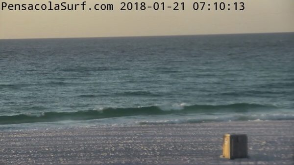 Sunday Morning Beach and Surf Report 1/21/18