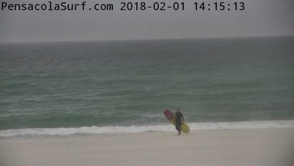 Thursday Afternoon Beach and Surf Report 2/1/18