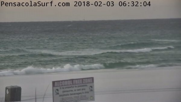 Saturday Morning Beach and Surf Report 2/3/18