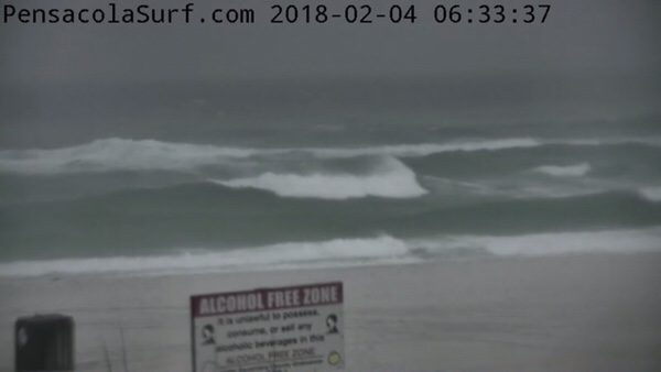 Sunday Morning Beach and Surf Report 2/4/18