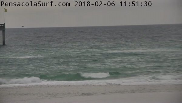 Tuesday Noon Beach and Surf Report 2/6/18