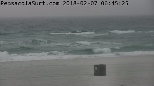 Wednesday Morning Beach and Surf Report 2/7/18