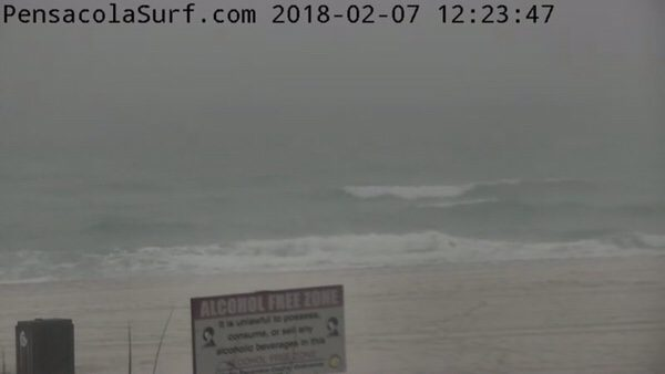 Wednesday Afternoon Beach and Surf Report 2/7/18