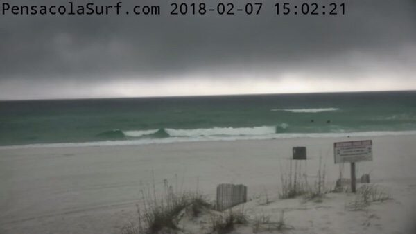 Wednesday Late Afternoon Beach and Surf Report 2/7/18