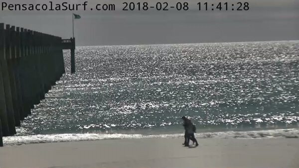 Thursday Noon Beach and Surf Report 2/8/18