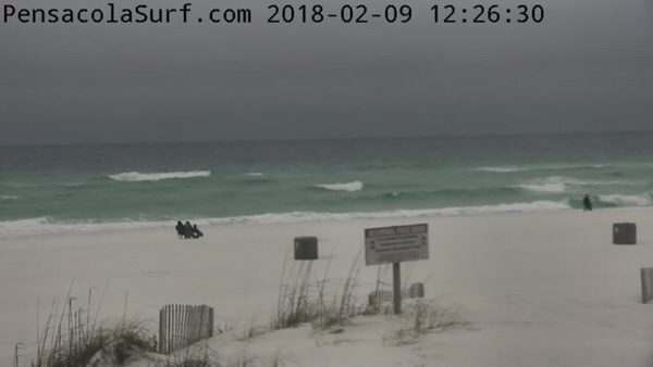 Friday Noon Beach and Surf Report 2/9/18