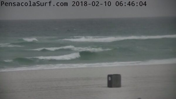 Saturday Morning Beach and Surf Report 2/10/18